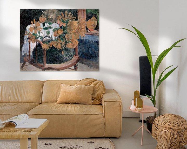 Sfeerimpressie: Zonnebloemen, Paul Gauguin