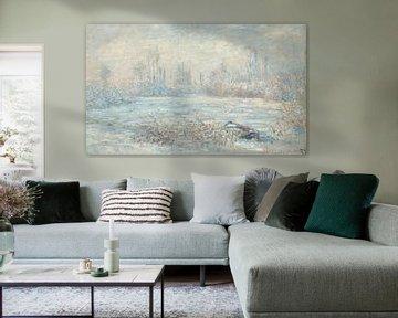 Vorst bij Vetheuil, Claude Monet...