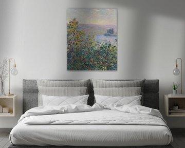 Blumenbeete in Vétheuil, Claude Monet