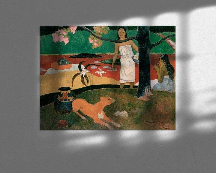 Beispiel: Pastorales Tahitiennes, Paul Gauguin