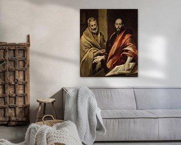 Sint Pieter en Paulus, El Greco, El Greco