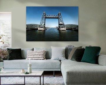 Hebebrücke, Rotterdam von Eddy Westdijk