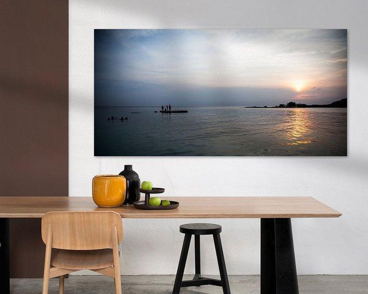 Sfeerimpressie: Zonsondergang Jan Thiel van Capture the Light