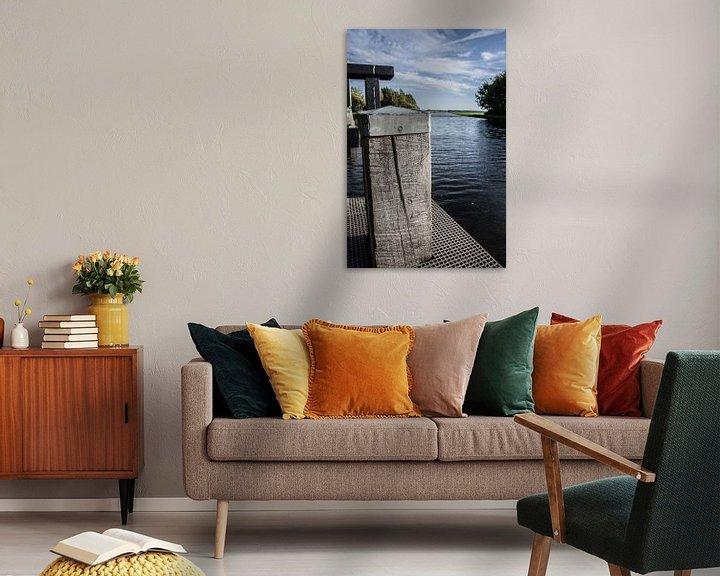 Sfeerimpressie: Havenpaal van Wouter van Rheenen