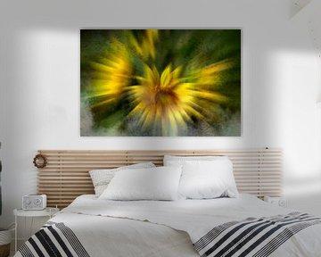 Concept flora : Mistige zonnebloemen van Michael Nägele