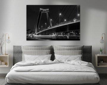 Willemsbrug Rotterdam von Yvonne Gravestein