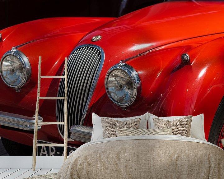 Sfeerimpressie behang: The Car a classic van Brian Morgan