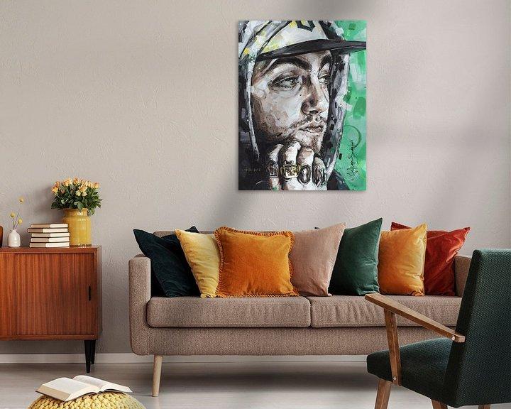 Beispiel: Mac Miller Malerei von Jos Hoppenbrouwers