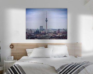 Berlijnse Skyline / Televisietoren van Alexander Voss