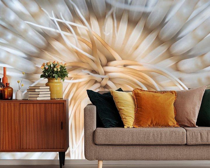 Sfeerimpressie behang: Ceriantharian van Enak Cortebeeck