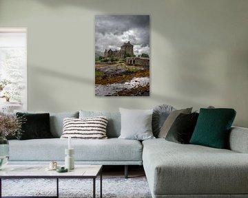 Eilean Donan Schloss von Frans Nijland
