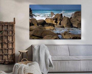 De zee - Bretagne / Frankrijk van Andreas Wemmje