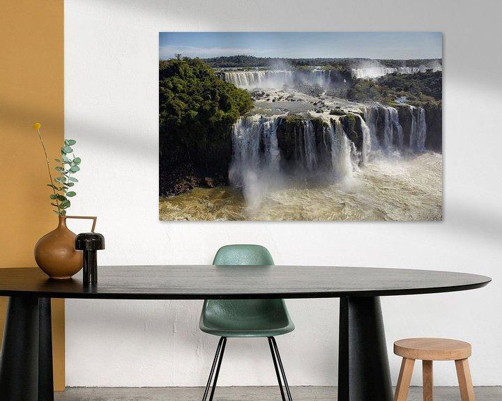 Sfeerimpressie: Brazilië, Argentinië, Iguazu National Park (UNESCO Werelderfgoedlijst, 1984). Iguazu-watervallen van Tjeerd Kruse