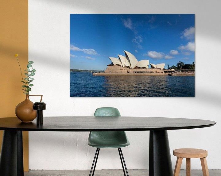 Sfeerimpressie: Australië, Sydney CBD. Oriëntatiepunt rond Sydney Harbour view vanaf Harbour Bridge uitkijk op een z van Tjeerd Kruse