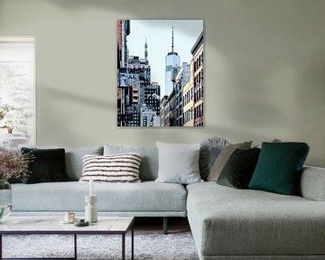 New York: One World Trade Center van Dutch Digi Artist