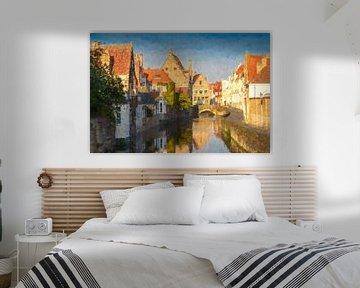 Historisches Zentrum Brügge, Belgien von Rietje Bulthuis