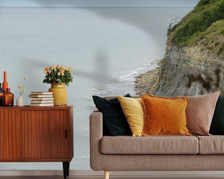 Beispiel fototapete: Küstenlinie der Normandie von Mark Bolijn