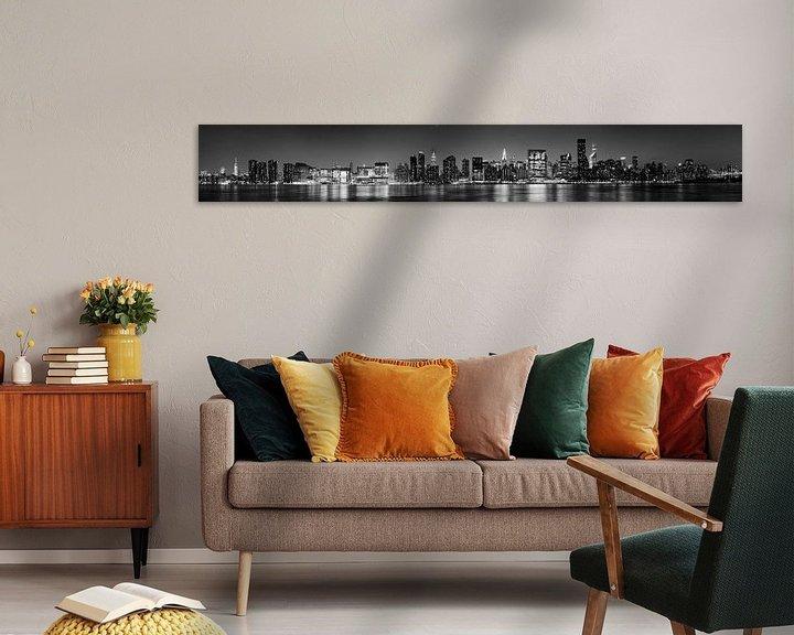 Sfeerimpressie: New York skyline van Atelier Liesjes