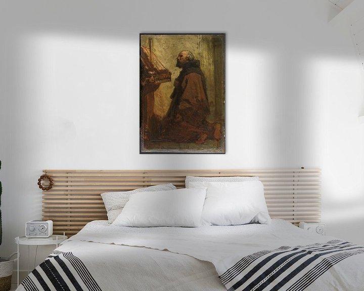 Beispiel: Betender Mönch, Jacob Maris