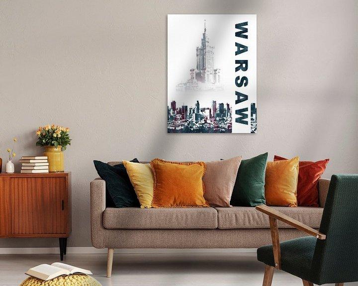 Sfeerimpressie: Warschau van Printed Artings