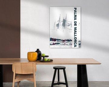 Palma de Mallorca von Printed Artings