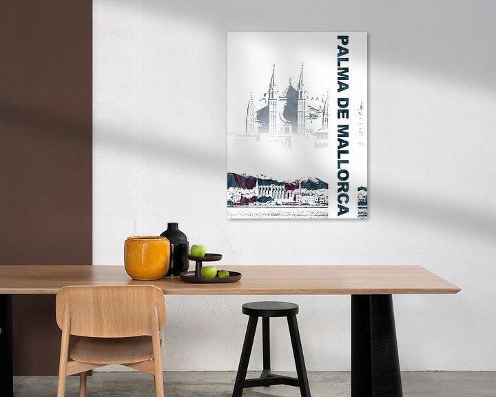 Sfeerimpressie: Palma de Mallorca van Printed Artings