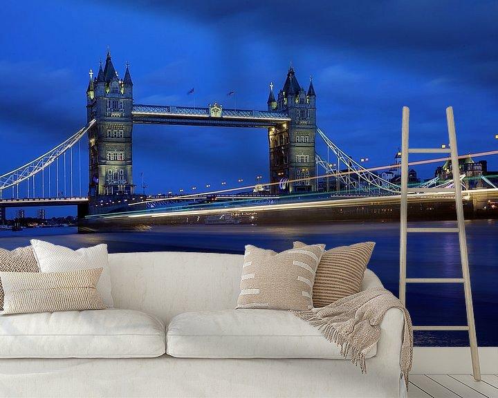 Beispiel fototapete: Tower Bridge London von Patrick Lohmüller