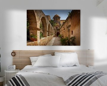 Monastère d'Agia Triada sur Antwan Janssen
