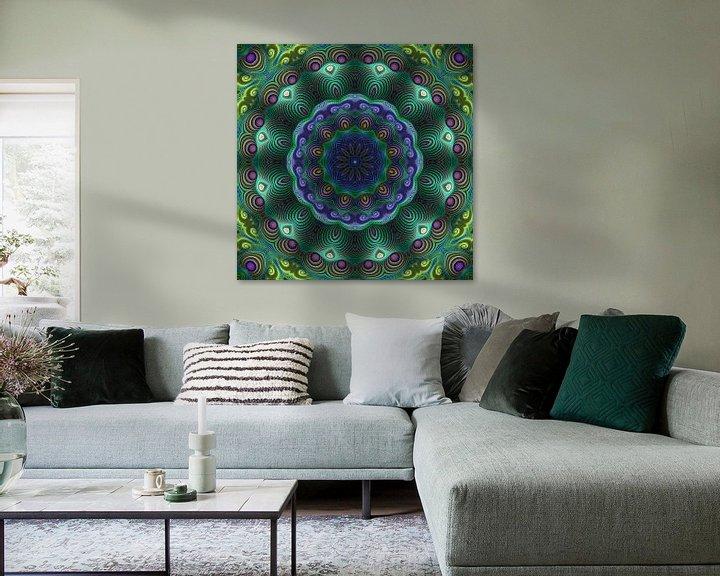 Sfeerimpressie: Mandala kracht van de natuur van Marion Tenbergen