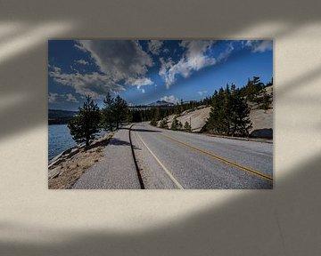 Tioga Pass im Yosemite Nationalpark von Easycopters
