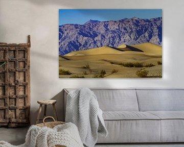 Mesquite Flat Dunes in Death Valley van Easycopters