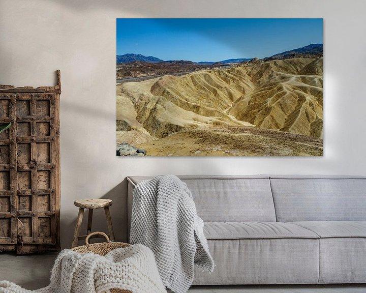 Sfeerimpressie: Zabriskie Point in Death Valley National Park van Easycopters
