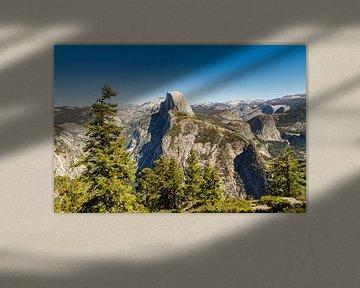 Glacier Point in Yosemite National Park