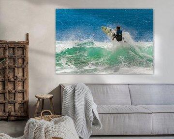 Surfer in Malibu