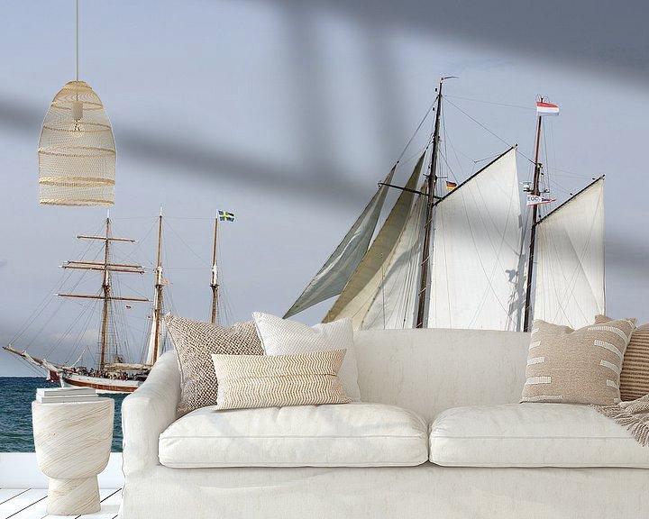 Beispiel fototapete: Begegnung auf der Sail von Ingo Rasch