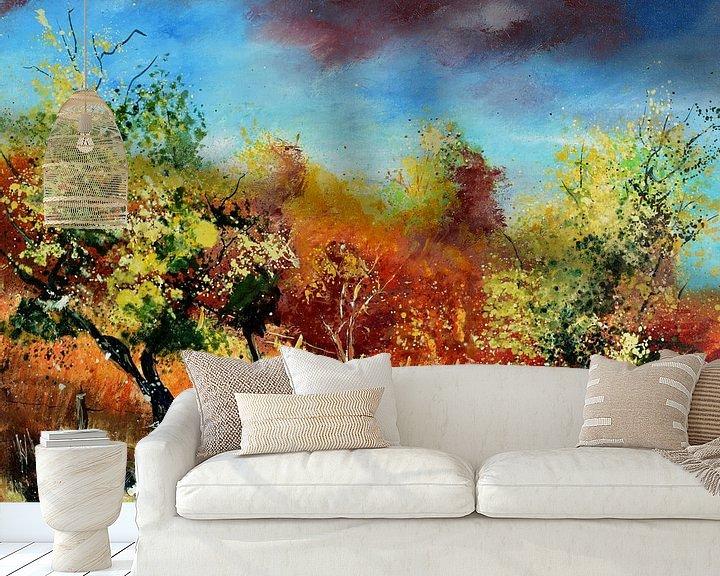 Beispiel fototapete: Obstgarten von pol ledent
