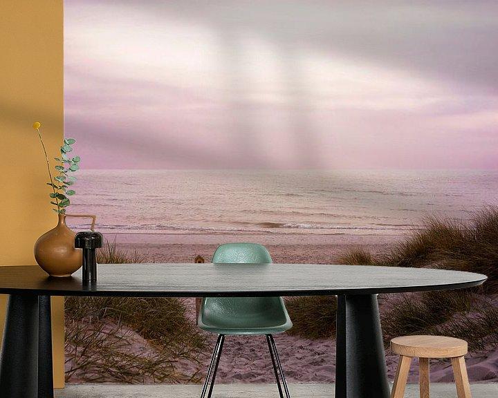 Beispiel fototapete: Stille am Morgen von Claudia Moeckel