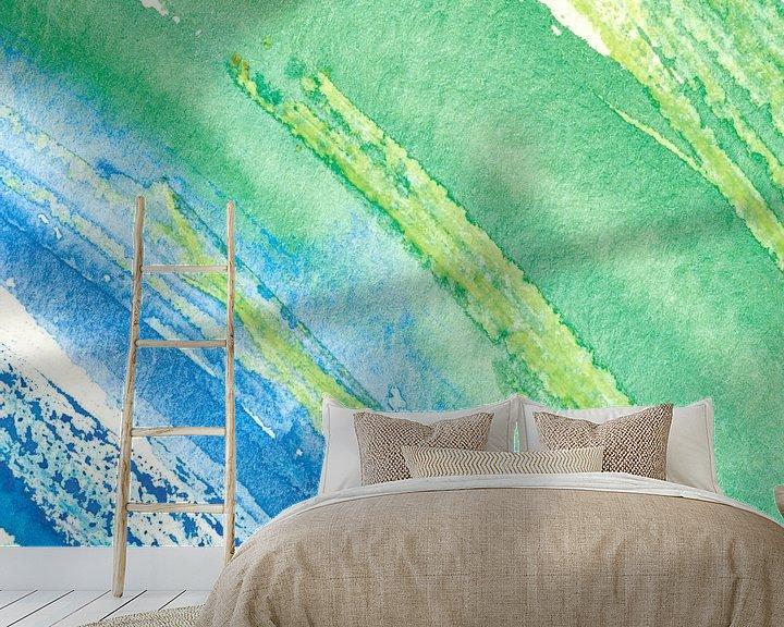 Beispiel fototapete: Aquarell IV von Herma Egberts