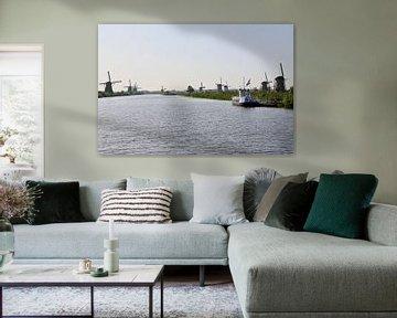 Windmolens van Kinderdijk van Edwin De smet