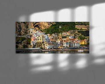 Colourful Amalfi, Italy van Teun Ruijters