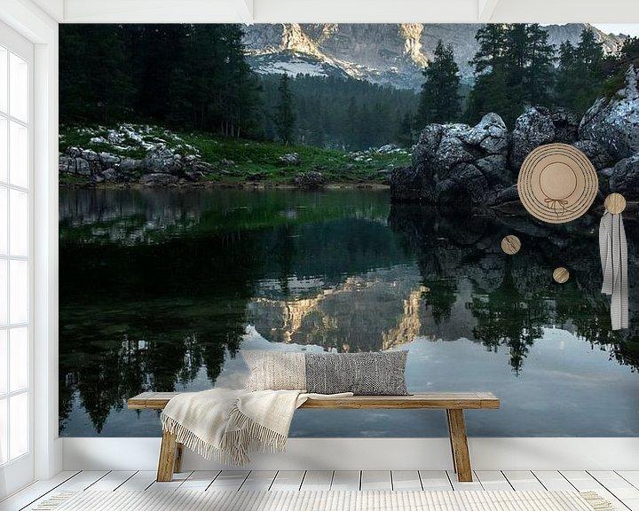 Sfeerimpressie behang: Triglav National Park - Meer van Stefan Witte