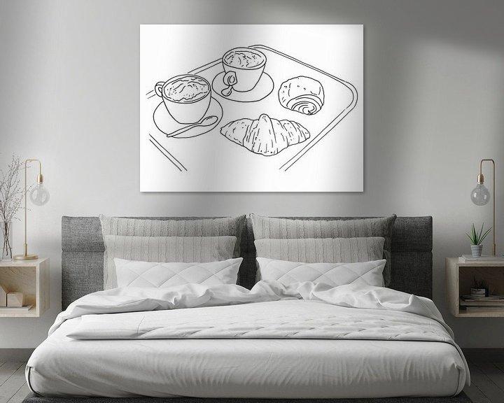 Beispiel: Kaffee und Croissants von Natalie Bruns