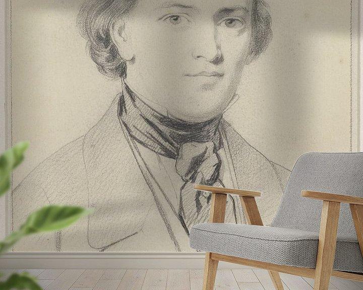 Beispiel fototapete: Porträt von Elias Pieter van Bommel
