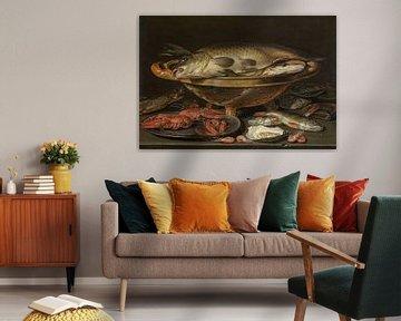 Stilleben mit Fisch, Clara Peeters