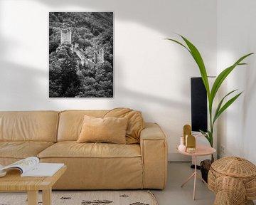 Ruine Niederburg Manderscheid in der Eifel 2 von Jörg Hausmann