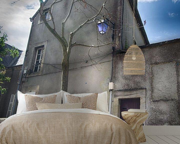 Beispiel fototapete: Stadtbild Bayeux von Mark Bolijn