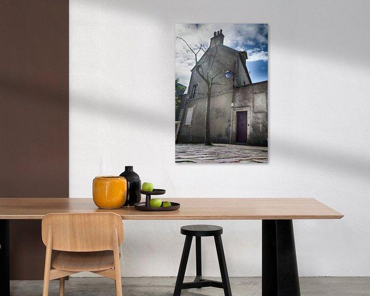 Beispiel: Stadtbild Bayeux von Mark Bolijn