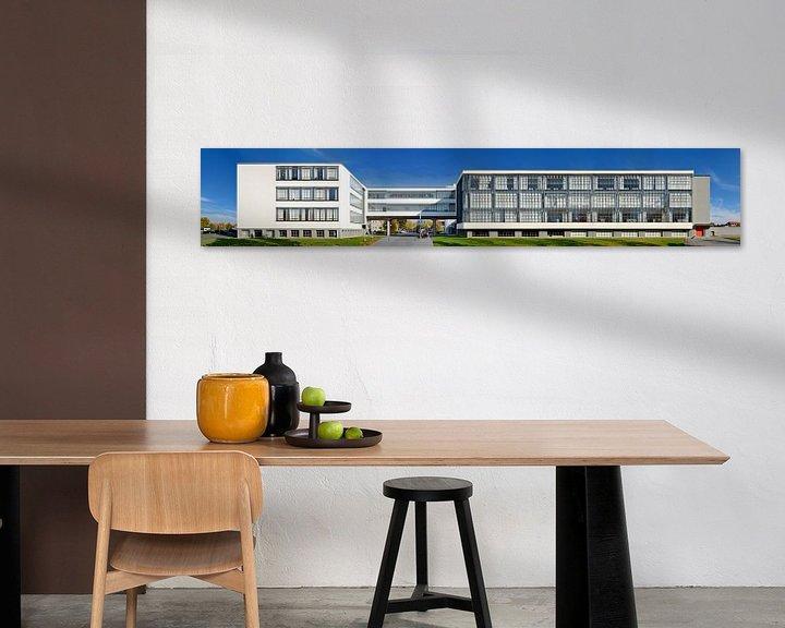 Beispiel: Bauhaus Dessau Panorama von Panorama Streetline