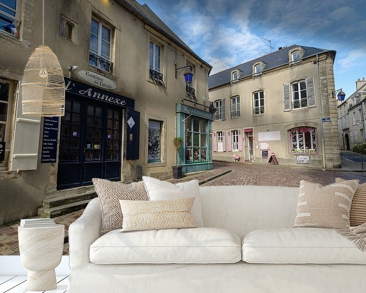 Beispiel fototapete: Alte französische Straße von Mark Bolijn