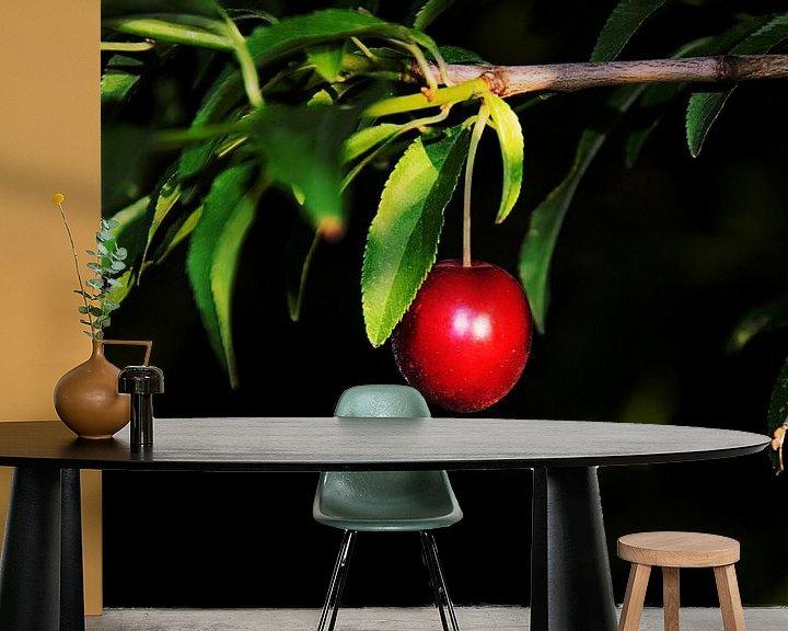 Sfeerimpressie behang: Rood fruit van RK